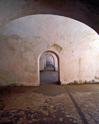 Photograph - Fort San Felipe Del Morro Doors by Adam Johnson