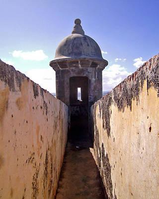 Photograph - Fort San Felipe Del Morro Turret by Adam Johnson