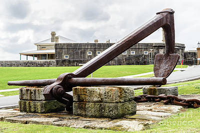 Photograph - Fort Scratchley 1 by Werner Padarin