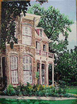 Arkansas Painting - Fort Smith Art Center by Sharon  De Vore