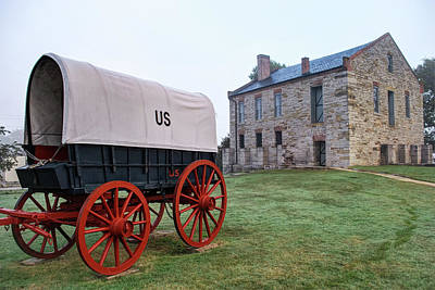 Northwest Photograph - Fort Smith National Historic Site - Arkansas by Gregory Ballos