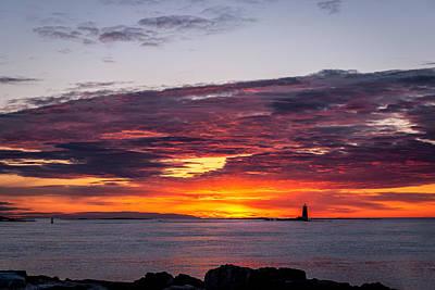 Fort Stark Photograph - Fort Stark Sunrise by Dave O'Brien