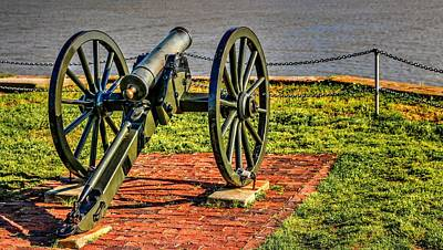 Photograph - Fort Sumter Artillery Cannon by Carol Montoya