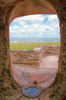 Digital Art - Fort Sumter Canon Window by Trey Foerster