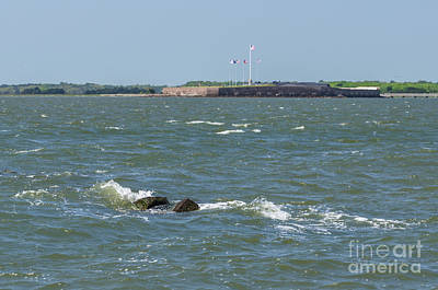 Featured Tapestry Designs - Fort Sumter in Charleston SC by Dale Powell