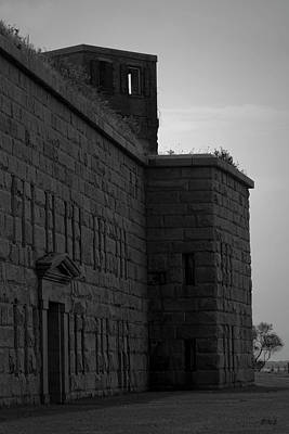 Photograph - Fort Taber Iv Bw by David Gordon