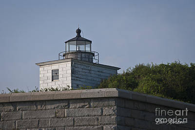 Civil War Battle Site Photograph - Fort Taber Lighthouse by David Gordon