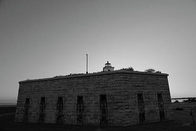 Civil War Battle Site Photograph - Fort Taber Nb II Bw by David Gordon