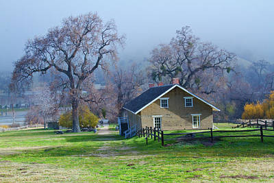 Fort Tejon California Original by Arthur Bohlmann