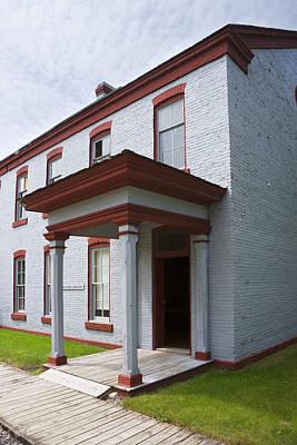 Fort Totten North Dakota Officers Quarters Art Print