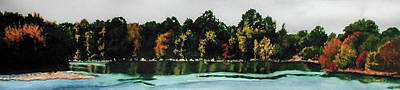 Fort Toulouse Coosa River Art Print by Beth Parrish