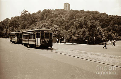 Fort Tryon Trolley Art Print