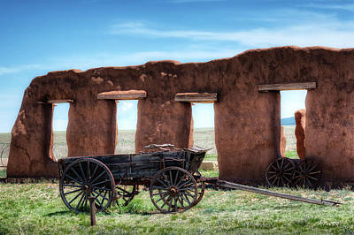Photograph - Fort Union Memories by James Barber
