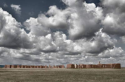 Photograph - Fort Union New Mexico by Alan Toepfer