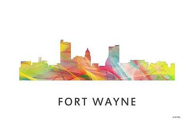 Indiana Landscapes Digital Art - Fort Wayne Indiana by Marlene Watson