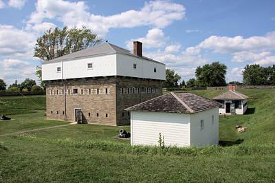 Photograph - Fort Wellington Blockhouse by Valerie Kirkwood