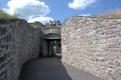Photograph - Fort Wellington Entrance by Valerie Kirkwood