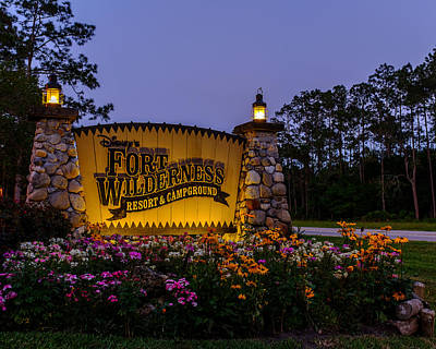 Photograph - Fort Wilderness Resort And Campground 2 by Chris Bordeleau