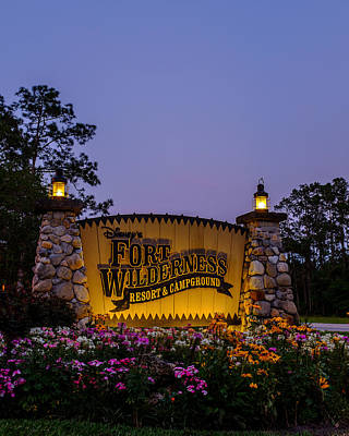Fort Wilderness Resort And Campground Art Print