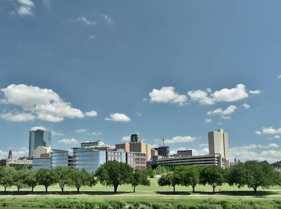 Photograph - Fort Worth 2 by Robert Brown