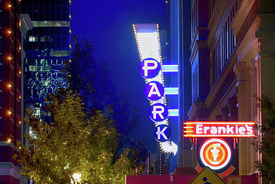 Photograph - Fort Worth Frankie's 0101017 by Rospotte Photography