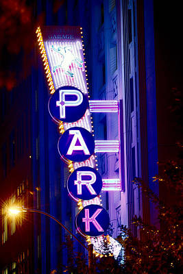 Photograph - Fort Worth Parking by Rospotte Photography