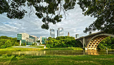 Photograph - Fort Worth Skyline 1 by Ricardo J Ruiz de Porras