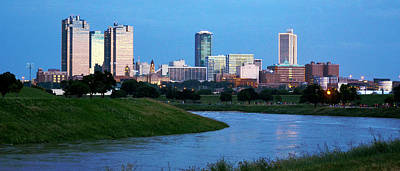 Photograph - Fort Worth Skyline 2 by Ricardo J Ruiz de Porras