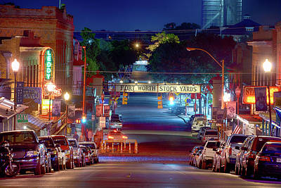Photograph - Fort Worth Stockyards 091017 by Rospotte Photography