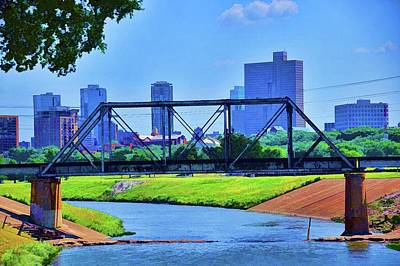 Photograph - Fort Worth Texas Skyline by Diana Mary Sharpton