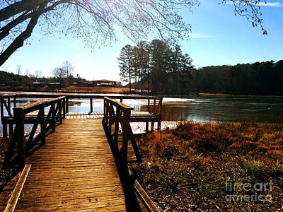Photograph - Fort Yargo Boardwalk by Utopia Concepts