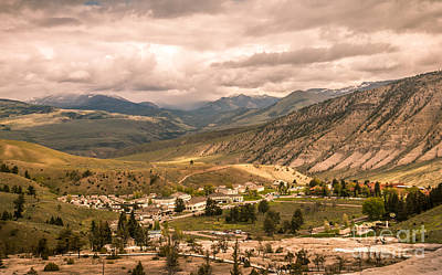 Photograph - Fort Yellowstone by Robert Bales