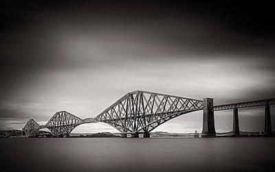 C2g Photograph - Forth Bridge by Tim Haynes