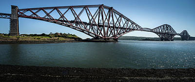 Photograph - Forth Rail Bridge by Alex Saunders