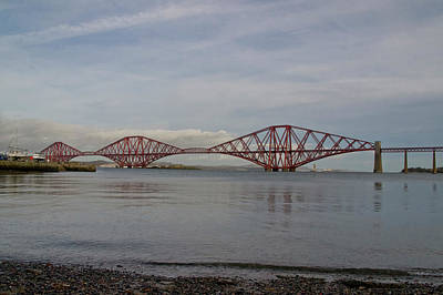 Photograph - Forth Rail Bridge by Elena Perelman