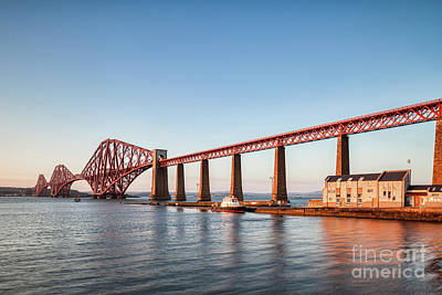 Photograph - Forth Rail Bridge, Evening by Colin and Linda McKie