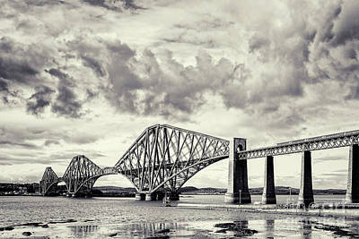 Photograph - Forth Rail Bridge Scotland by Colin and Linda McKie
