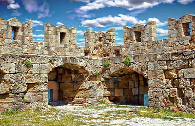 Photograph - Fortifications Of Rhodes by Anthony Dezenzio