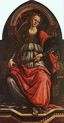 Digital Art - Fortitude  by Sandro Botticelli