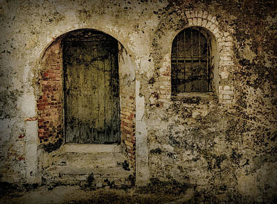 Photograph - Corfu, Greece - Fortress Door by Mark Forte