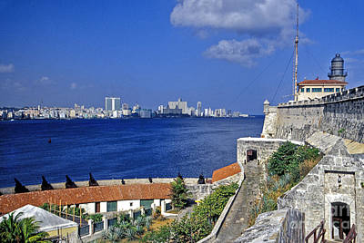 Photograph - Fortress El Morro Havana Cuba by David Zanzinger