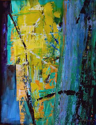 Yello Painting - Fortress by Ethel Vrana