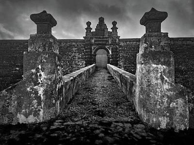 Photograph - Fortress Of Sao Joao Baptista, Monte Brasil, Terceira by Kelly Hazel