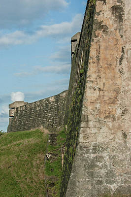 Photograph - Fortress Wall by Herb Paynter
