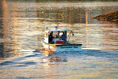 Photograph - Fortunate Son Kittery Maine by Eric Gendron