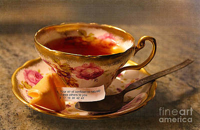 Photograph - Fortunate Tea Time by Nina Silver