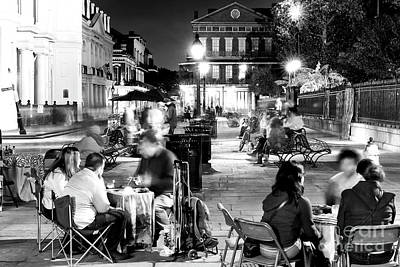 Photograph - Fortunes In Jackson Square by John Rizzuto