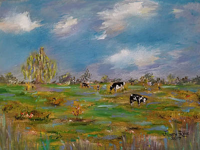 Painting - Forty Acres by Judith Rhue