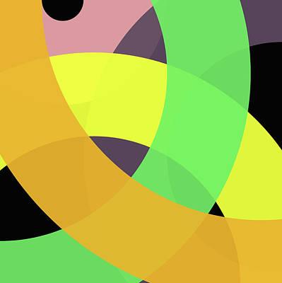 Forty -circle- Art Print