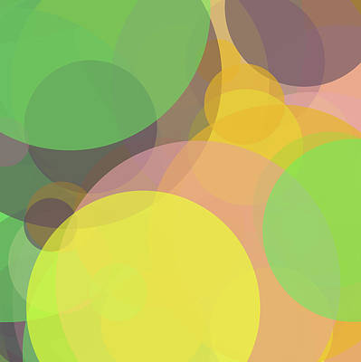 Forty -circle- -composition- Art Print